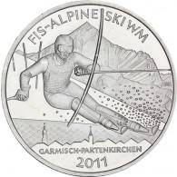 Deutschland 10 Euro Silber 2010 FIS Alpine Ski WM 2011