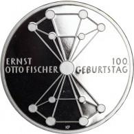 20-Euro-Silbermünze 100. Geb. Ernst Otto Fischer Deutschland 2018