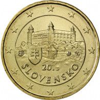 Slowakei 50 Cent 2014 bfr. Burg von Bratislava