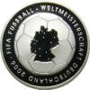 10 Euro 2003 Silbermünze zur Fußball-WM 2006 1. Ausgabe aus Deutschland