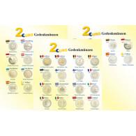 Zubehoer 2 Euro Gedenkmünzen