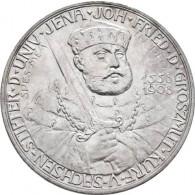 """J. 161 Sachsen-Weimar-Eisenach 5 Mark 1908 """"350 Jahre Universität Jena"""""""