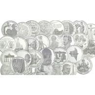 BRD 10 DM  1987  bis  2001   stgl. 750 Jahre Berlin bis Bundesverfassungsgericht (37 Münzen)