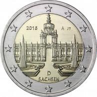 Dresdner Zwinger 2016 Sachsen Münze