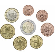Österreich 1 Cent bis 2 Euro 2010 lose