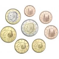 Spanien 3,88 Euro Kursmünzen 2018 König Felipe