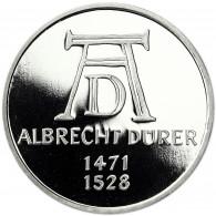 Deutschland 5 DM Silber 1971 PP Albrecht Dürer in Münzkapsel