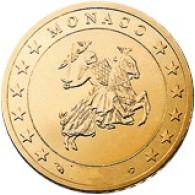 Monaco 50 Cent 2004 Polierte Platte
