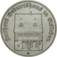 5 Mark Luthers Geburtshaus DDR Muenze