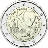 Vatikan-2-Euro-2020-Papst-Johannes-Paul-II-im-Folder