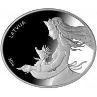 Hans mein Igel 5 Euro Silbermünze Lettland 2016