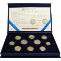 Euro Kursmünzensatz Malta 2014 mit 2 Euro Unabhänigkeit mit Münzmeisterzeichen