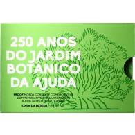Portugal 2 Euro 2018 PP 250 Jahre Botanischer Garten Ajuda in Coincard
