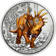 3-Euro-Sauerier-Sondermünze-Styrocosasaurus-2021-I
