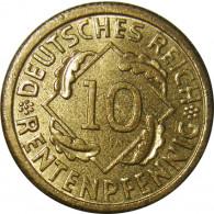 Deutsches Reichs Geld J.309 10 Rentenpfennig 1923 - 1924