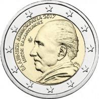 2 Euro Sondermünze Kazantzakis aus Griechenland