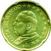 Vatikan 20 Cent Papst Johannes Paul