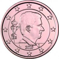 Euromuenze aus Belgien  5 Cent 2012 mit Philippe