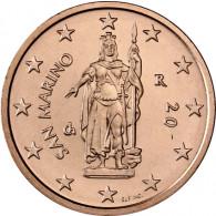 San Marino 2 Cent 2004 bfr.Freiheitsstatue von Stefano Galletti