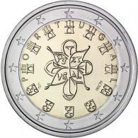 Portugal 2 Euro Münzen Königssiegel Kursmünzen Münzkatalog bestellen Gedenkmünzen Sondermünzen Zubehör kaufen