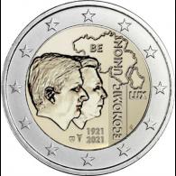 Belgien-2-Euro-2021-Wirtschaftsunion-bfr