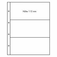 Zubehoer  309014 - Leuchtturm  Transparente Kunststoffhuellen FOLIO 3 C