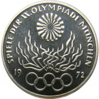 10 DM Deutschland 1972 Olympiade München Feuer bestellen