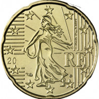 Frankreich 20 Cent 2005 bfr. Säerin