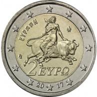 Griechenland 2 Euro 2017 stgl Europa auf dem Stier