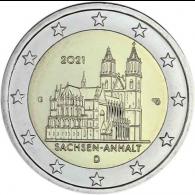Deutschland-2-Euro-2021-Sachsen-Anhalt-Magdeburger-Dom-G-stgl-I