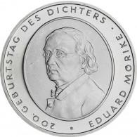 Deutschland 10 Euro 2004 stgl. 200. Geburtstag von Eduard Mörike