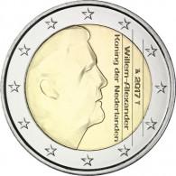 2 Euro Kursmünzen 2017 Niederlande Willem Alexander