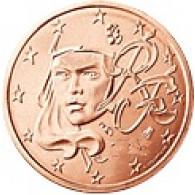 Frankreich 2 Cent 2011 bfr. Marianne