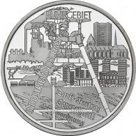 Gedenkmünze 10 Euro Ruhrgebiet