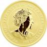 Australien-1-oz-Goldmünze-100-Dollar-2021-Ochse-1oz-Gold-II