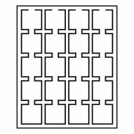 Zubehoer  Muenzraehmchen  323232 -  Münzenbox LIGNUM