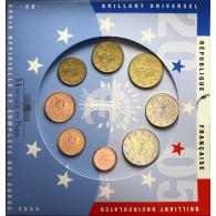 Frankreich 3,88 Euro 2005 stgl. KMS im Folder