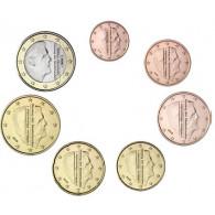 Niederlande KMS 1 Cent bis 1 Euro Jahrgang 2016