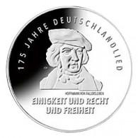 Deutschlandlied 20 Euro Silbermünze