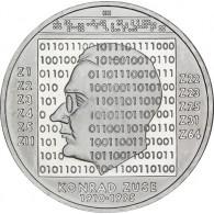 Deutschland 10 Euro Silber 2010 Gedenkmünze Konrad Zuse