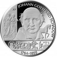 Deutschland 10 Euro Silbermünze 2014 PP Schadow