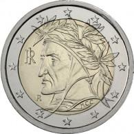 Kursmünze Italien 2 Euro 2012 Dante Alighieri Sondermünzen Gedenkmünzen Zubehör Münzsammlung Münzkatalog