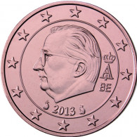 Belgien 1 Cent 2013 Koenig Albert II