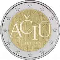 2 Euro Litauische Sprache