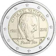 2 Euro Gedenkmünze Padre Pio online bei Ihrem Münzhändler bestellen