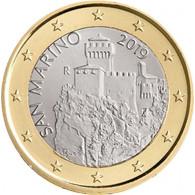 San Marino 1 Euro-Kursmünze 2019 2. Turm - La Fratta bestellen Zubehör für Münzsammler