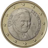 Vatikan 1 Euro Papst Benedikt XVI. Jahrgang nach HISTORIA-Wahl