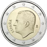 Spanien 2 Euro Kursmünze  2017 König Felipe
