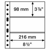 305160 GRANDE Hüllen  3 S ( Schwarz) 5er Pack