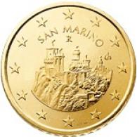 San Marino 50 Cent 2002 bfr. Festungstürme Monte Titano